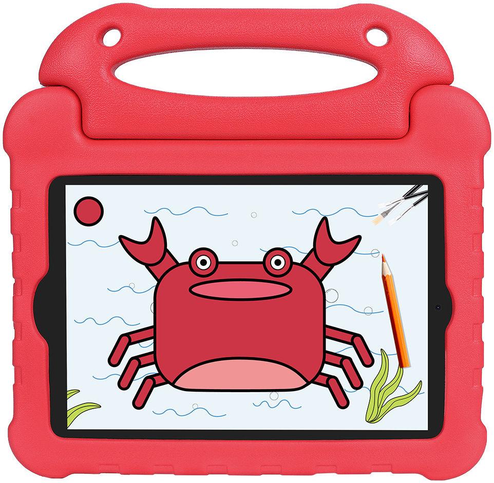 Apple iPad Mini 1/2/3/4/5 Kinder Tablethoes met Handvat Rood