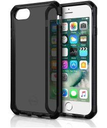 Apple iPhone 6 / 7 / 8 Itskins Supreme Clear Hoesje Zwart