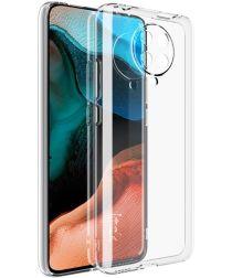 IMAK UX-5 Xiaomi Poco F2 Pro Hoesje Flexibel en Dun TPU Transparant