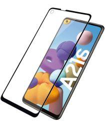 PanzerGlass Samsung Galaxy A21s Screenprotector Case Friendly Zwart