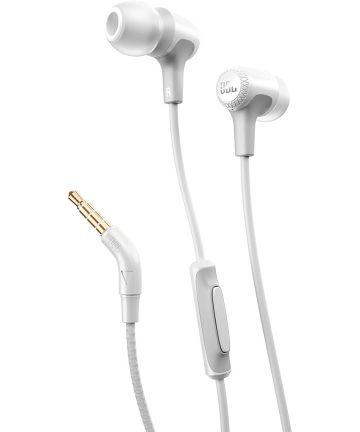 JBL by HARMAN E15 In-Ear Oordopjes 3.5mm Jack Headset Wit Headsets