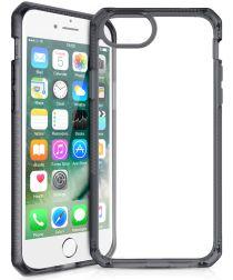 Itskins Level 2 Hybrid Solid Apple iPhone 8 / 7 / 6S / 6 Hoesje Zwart