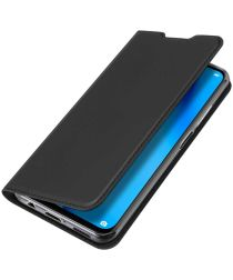 Dux Ducis Skin Pro Series Huawei P40 Lite Flip Hoesje Zwart