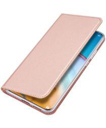 Dux Ducis Skin Pro Series Huawei P40 Pro Hoesje Portemonnee Roze