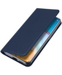Dux Ducis Skin Pro Series Huawei P40 Hoesje Portemonnee Blauw