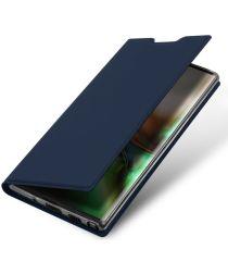 Dux Ducis Skin Pro Series Xiaomi Note 10 Pro Hoesje Portemonnee Blauw