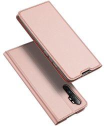 Dux Ducis Skin Pro Series Xiaomi Note 10 Lite Hoesje Portemonnee Roze