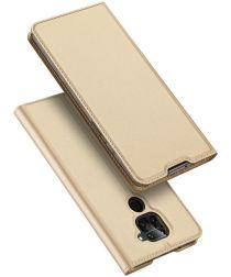 Dux Ducis Skin Pro Series Xiaomi Redmi Note 9 Hoesje Portemonnee Goud