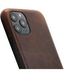 Minim Apple iPhone 11 Pro Hoesje Back Cover Hoesje Bruin