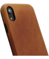 Minim Apple iPhone XR Hoesje Back Cover Hoesje Cognac