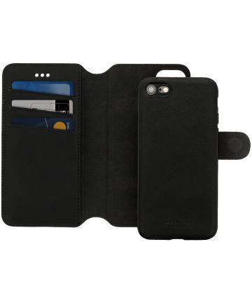 Minim 2-in-1 iPhone SE 2020 / 8 / 7 Hoesje Bookcase en Backcover Zwart Hoesjes