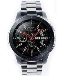 Ringke Metal Universeel Smartwatch 22MM Bandje Roestvrij Staal Zilver
