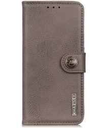 Sony Xperia L4 Book Case Hoesje Portemonnee Grijs