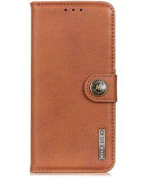 Sony Xperia L4 Book Case Hoesje Portemonnee Bruin