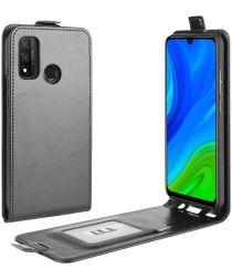 Huawei P Smart 2020 Verticale Flipcase Zwart
