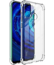 Huawei P Smart 2020 Hoesje TPU met Screenprotector Transparant