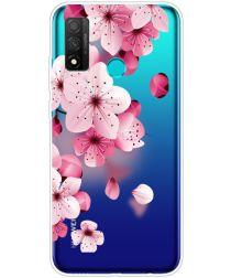 Huawei P Smart 2020 TPU Back Cover Met Sakura Print