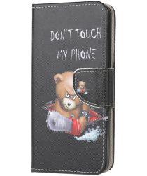 Huawei Y5p Book Case Hoesje Wallet met Print Beer