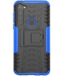Motorola Moto G Pro Robuust Hybride Hoesje Blauw