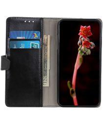 Xiaomi Mi Note 10 Lite Hoesje Portemonnee Book Cover Met Pasjes Zwart