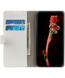 Xiaomi Mi Note 10 Lite Hoesje Portemonnee Book Cover Met Pasjes Wit