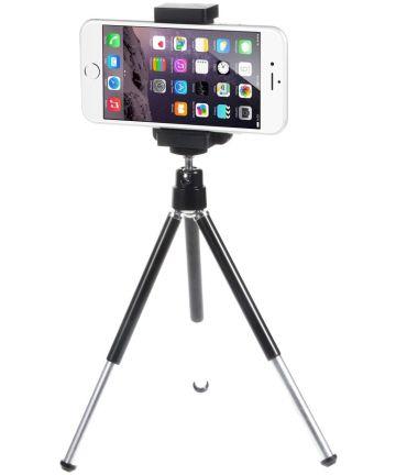 2-in-1 Smartphone Tripod en Selfie Stick Zwart Houders
