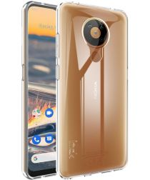 IMAK UX-5 Nokia 5.3 Hoesje Flexibel en Dun TPU Transparant