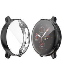 Samsung Galaxy Watch Active 2 40MM Hoesje Flexibel TPU Zwart