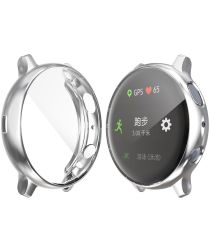 Samsung Galaxy Watch Active 2 40MM Hoesje Flexibel TPU Zilver