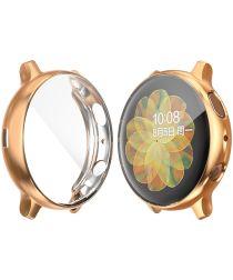 Samsung Galaxy Watch Active 2 40MM Hoesje Flexibel TPU Goud