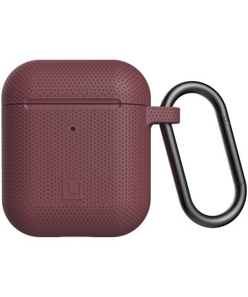 U by UAG Apple Airpods Siliconen Hoesje Rood Hoesjes