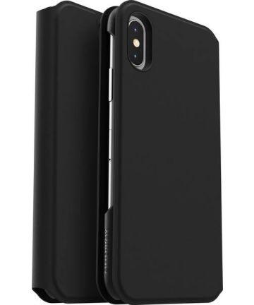 Otterbox Strada Series Apple iPhone XS / X Hoesje Book Case Zwart Hoesjes