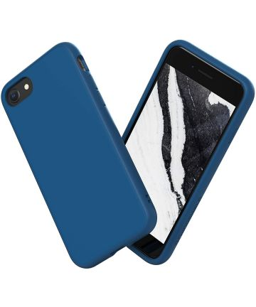 RhinoShield SolidSuit Classic Apple iPhone 7/8/SE 2020 Blauw Hoesjes