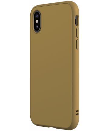 RhinoShield SolidSuit Classic iPhone X Hoesje Beige Hoesjes