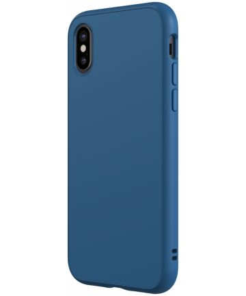 RhinoShield SolidSuit Classic iPhone X Hoesje Blauw