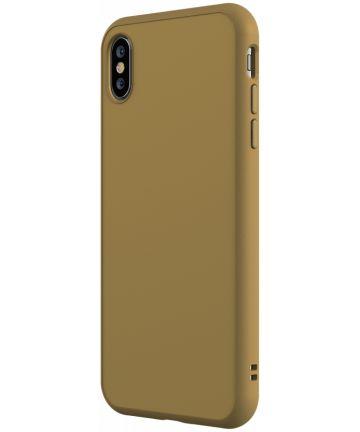 RhinoShield SolidSuit Classic iPhone XS Hoesje Beige Hoesjes