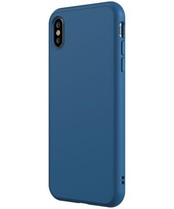 RhinoShield SolidSuit Classic iPhone XS Hoesje Blauw Hoesjes