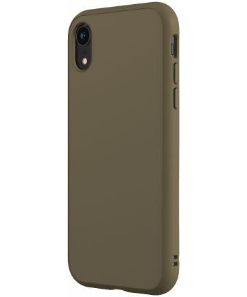 RhinoShield SolidSuit Classic iPhone XR Hoesje Groen Hoesjes
