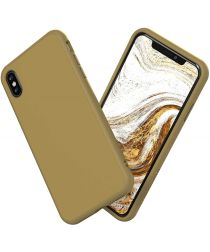 RhinoShield SolidSuit Classic iPhone XS Max Hoesje Grijs