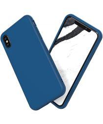 RhinoShield SolidSuit Classic iPhone XS Max Hoesje Blauw