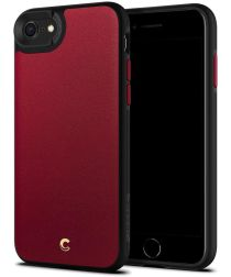 Spigen Ciel by Cyrill Leather Apple iPhone 7 /8 / SE 2020 Hoesje Rood