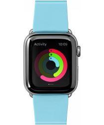 LAUT Huex Pastels Apple Watch 44MM / 42MM Bandje Flexibel TPU Blauw