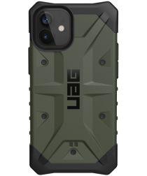 Urban Armor Gear Pathfinder Apple iPhone 12 Mini Hoesje Olive