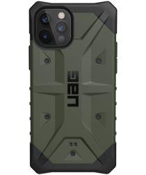 Urban Armor Gear Pathfinder iPhone 12 / 12 Pro Hoesje Olive