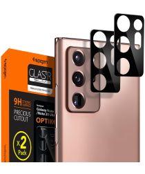 Spigen Galaxy Note 20 Camera Lens Tempered Glass 2-Pack Zwart