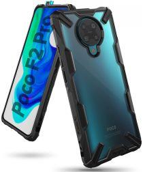 Ringke Fusion X Xiaomi Poco F2 Pro Hoesje Zwart