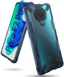 Ringke Fusion X Xiaomi Poco F2 Pro Hoesje Blauw