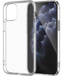 Apple iPhone 12 Mini Hoesje Flexibel en Dun TPU Transparant
