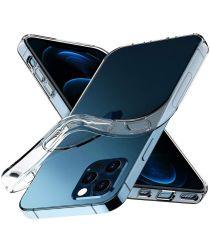 Apple iPhone 12 / 12 Pro Hoesje Flexibel en Dun TPU Transparant
