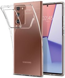 Samsung Galaxy Note 20 Ultra Hoesje Dun TPU Transparant